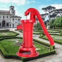 Yonntech Cast Iron Stand Hand Water Pump Well Pump Base Stand Watering for Garden Park