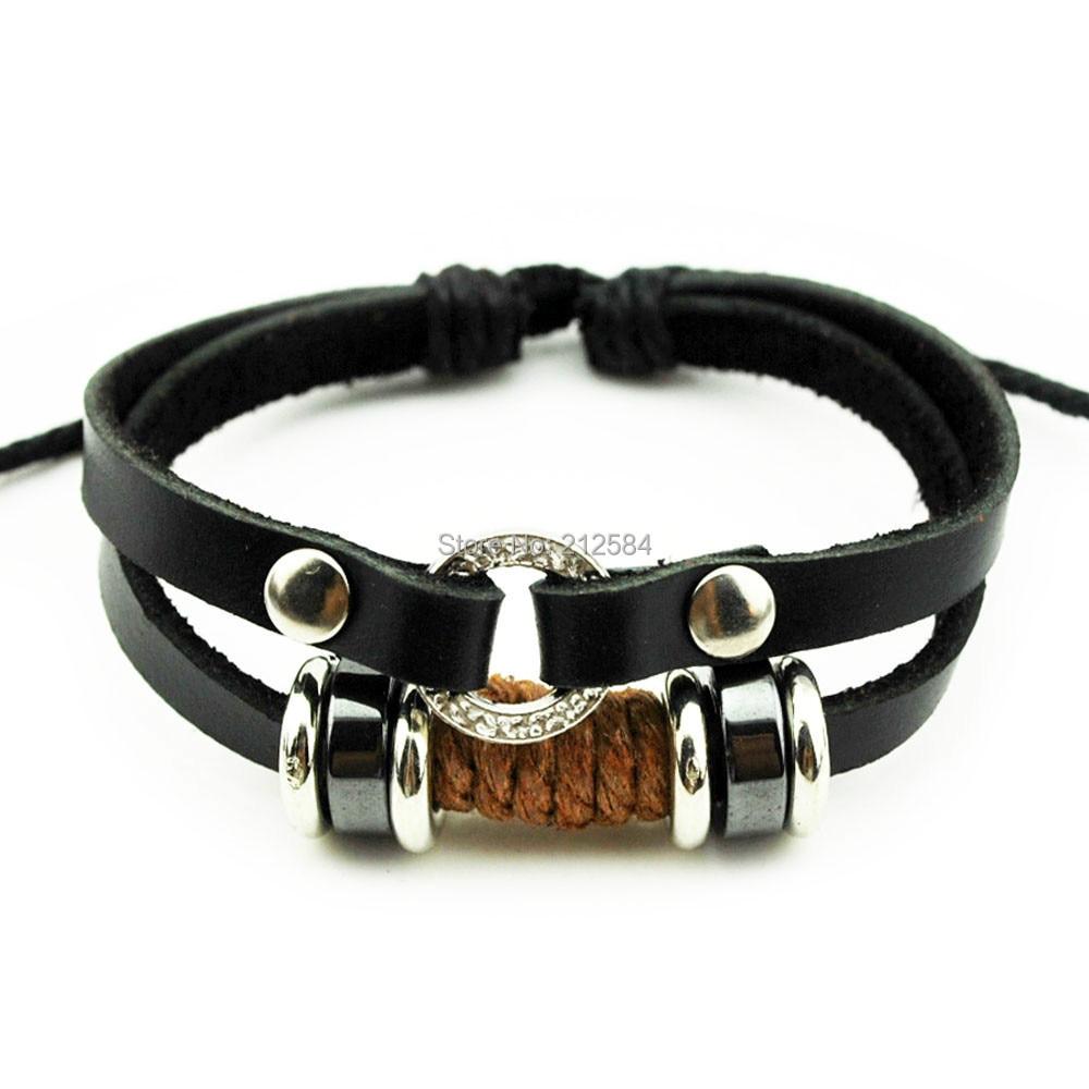 Hemp Charm Bracelet