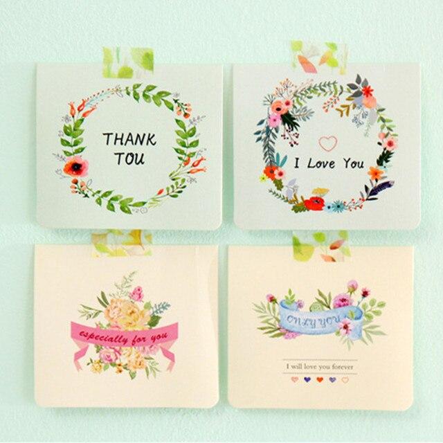 Fashion i love you mini flower heart greeting card mothers day gift fashion i love you mini flower heart greeting card mothers day gift christmas new year greeting m4hsunfo