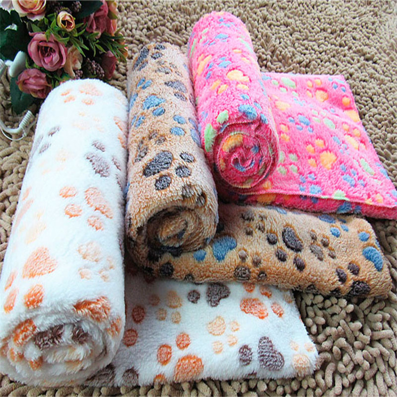 3 Color S M L Dog Cat Pet Soft Coral Fleece Warm Thermal