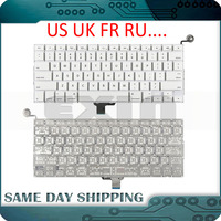 Новый A1342 Клавиатура США русский, французский, русский клавиатуры для Apple Macbook Pro 13
