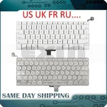 """新しい A1342 キーボード米国米国英語英国、フランス、ロシアキーボードアップルの Macbook 13 """"インチユニボディホワイト A1342 米国キーボード年"""