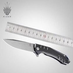 Kizer coltello piegante tattica della lama di 2018 nuovi arrivi fatta da Azo di alta qualità strumento di sopravvivenza