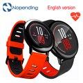 Em estoque!! [versão em inglês] original xiaomi huami amazfit esporte smart watch smartwatch bluetooth wifi 512 mb/4 gb gps freqüência cardíaca