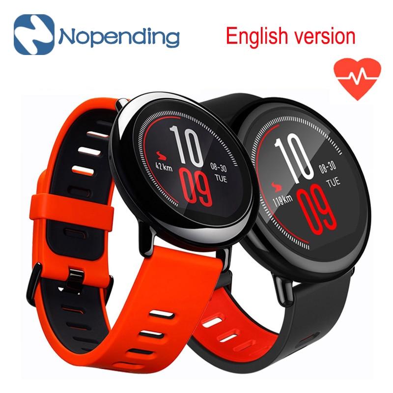 In magazzino!! [English Version] Original HUAMI AMAZFIT Sport Orologio Intelligente Smartwatch Bluetooth WiFi GPS Frequenza Cardiaca Per Xiaomi Phone
