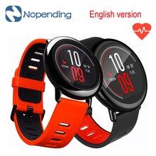 In stock English Version Original HUAMI AMAZFIT Sport Smart Watch font b Smartwatch b font Bluetooth