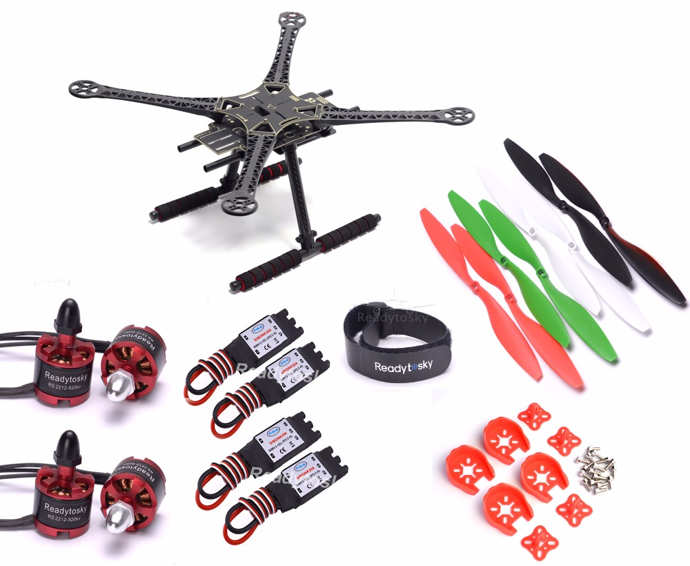 S500 Quadcopter Frame 2212 920KV Motor 30A Simonk ESC 1045 propeller Super combo numerical study of dynamic relaxation methods