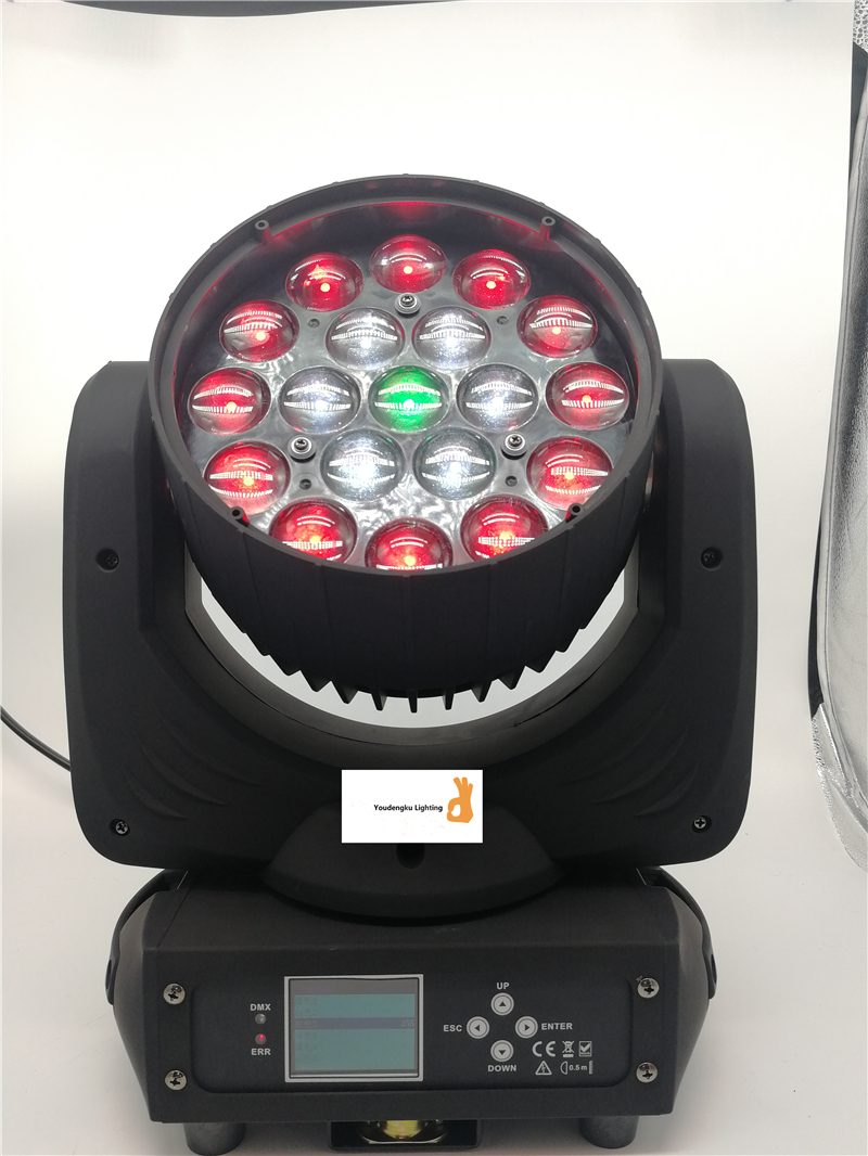 8 Pieces Zoom Focus Ring Control Movinghead 6 In 1 Rgbwa+uv Led Zoom Wash Movinghead 36x18w Moving Head Wash Light Lights & Lighting