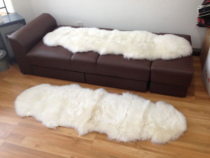 Online Buy Wholesale Natural Sheepskin Rugs From China