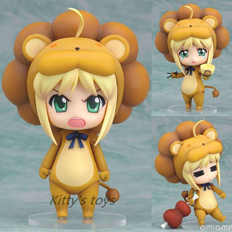 10CM Nendoroid Fate/stay night Saber Lily Lion #50 Boxed PVC Action Figure Model Collection Toy KB0216 Change name: