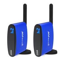 PAT 535 5.8GHz TV Use Wireless Audio Video Transmitter and Receiver 2with IR Extender for Controlling DVD / Set Top Box Keyc