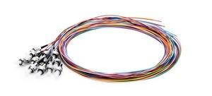 Image 3 - Fiber Pigtail 12 Colors 1.5m SC/LC/FC/APC/UPC fiber Pigtail cable G657A 12 Cores 12 Fibers Simplex Single Mode 0.9mm
