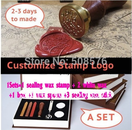 Customize Wedding League Logo DIY Seal Stamps Sealing Wax Stamp Wax Seal stamp Custom Design Scrapbooking & Stamping delicate double layered cuff bracelet for women