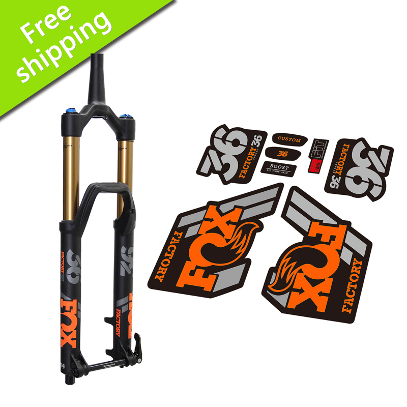 2018 FOX36 MTB Fork Stickers For MTB Mountain Bike Bicycle Front Fork FOX 36 Replacment Race