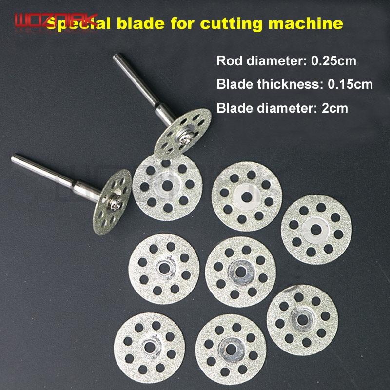 Mobile Screen Cutting Machine Separators Dismantling Cutting Blade Electric Mill Blade Screen Cutting And Dismantling Blade Set