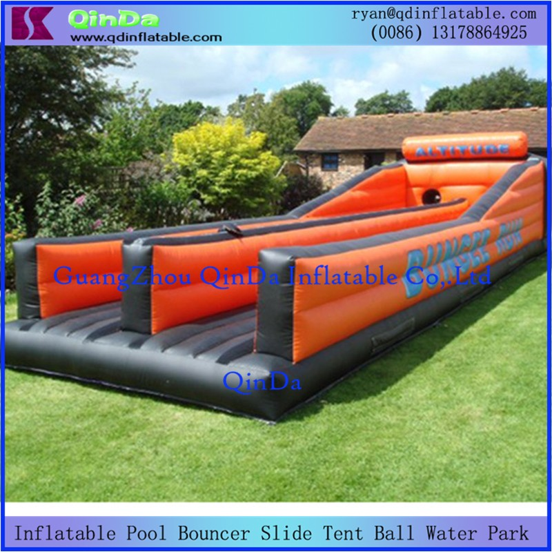 Inflatable Bungee Run4