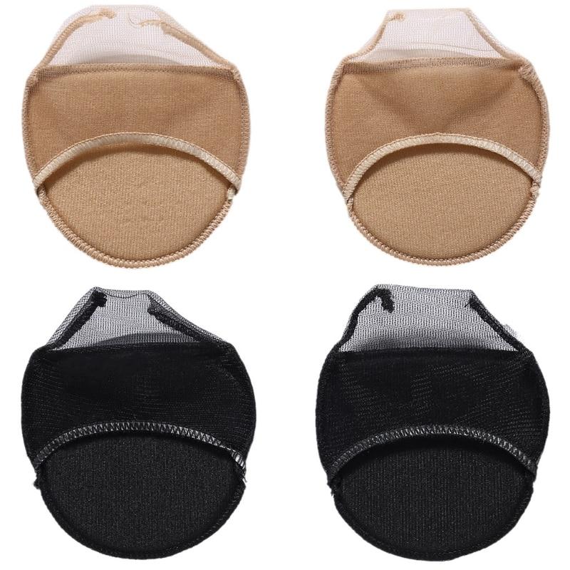 THINKTHENDO 1 paar Absorberen Onzichtbare Zweet Zachte Voetverzorging Pad Vrouwen Voorvoet Onzichtbare Sokken Dropshipping