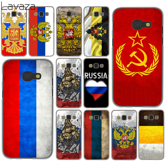Lavaza Flag Russian Federation Red Army Bear For Samsung Galaxy A6