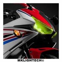 CBR500R Motorcycle Parts Headlight Protector Cover Screen Lens For HONDA CBR 500R CBR500 R 2016 2018