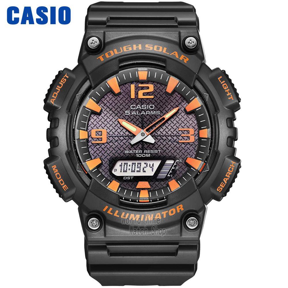 Casio Watch Outdoor Sports Solar Multifunction Casual Men's Watch AQ-S810W-8A AQ-S810W-1A2 AQ-S810W-1A3 AQ-S810W-1B AQ-S810W-2A