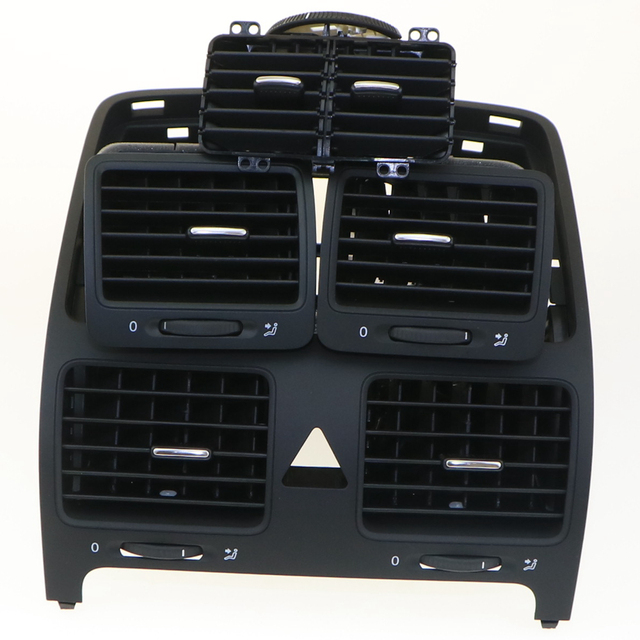 4 Qty VW OEM Auto Air Conditioning Air Outlet Vent Set For VW JETTA MK5 GOLF 5 1KD 819 703 1KD 819 704 1KD 819 728 1KD 819 203