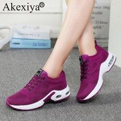 Akexiya جديد الشتاء والربيع احذية الجري للرجال/النساء حجم 35-40 أحذية رياضية امرأة أحذية رياضية