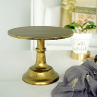 Cake decorating stand high quality black gold wedding cake tools for cup cake/fondant bakeware candy bar party supplier