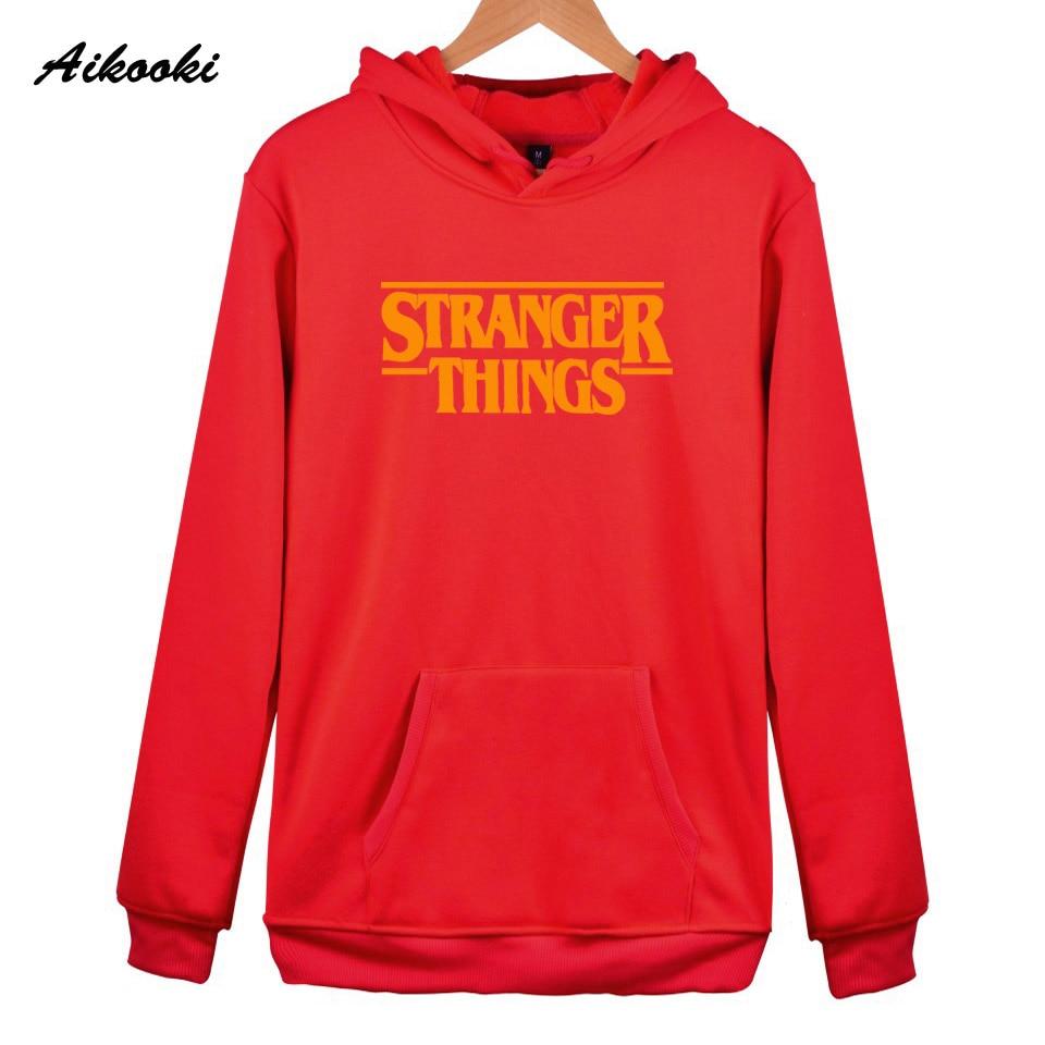 Hoodie Stranger Things Hoodies Sweatshirt women/men Casual Stranger Things Sweatshirts Women Hoodie Men's 50