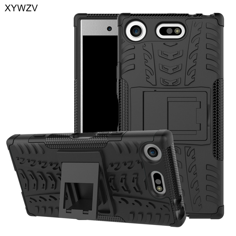 For Sony Xperia XZ1 Compact Case Shockproof Cover Hard Phone Case For Sony Xperia XZ1 Compact Back Cover For SONY X Z1 Compact-in Fitted Cases from Cellphones & Telecommunications