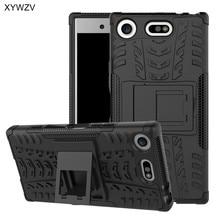Para Sony Xperia XZ1 funda compacta a prueba de golpes funda dura de teléfono para Sony Xperia XZ1 funda trasera compacta para SONY X Z1 compacto