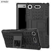 لسوني اريكسون XZ1 المدمجة حالة صدمات الغلاف جراب هاتف لسوني اريكسون XZ1 المدمجة غطاء الخلفي لماركة سوني X Z1 المدمجة