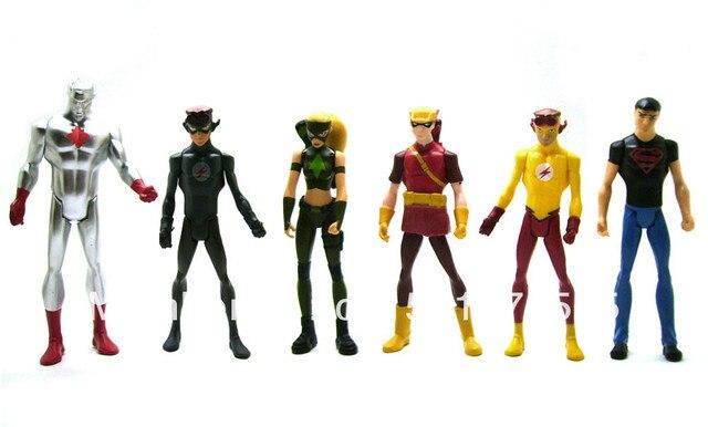 DC JLU Young Justice League Atom Kid Flash Artemis Speedy