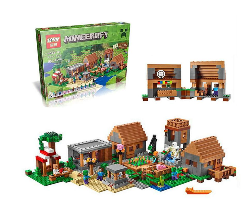 Toys & Hobbies Model Building Kits Compatible With Legomy Worlds Minecraft The Fortress 21127 18005 Educational Toys Hobbies For Children Reasonable Price