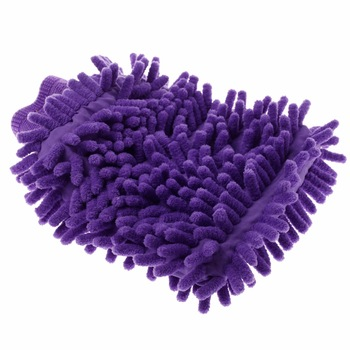 Car Chenille Superfine Fibers Cleaner Dishcloth Coral Gloves Clean Car Body Windshield Before Waxing or New Wipers Installation