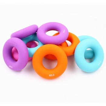 Żel krzemionkowy przenośny uchwyt do ręki pierścień chwytający nadgarstka expander 20-100 LB o średnicy 8 cm tanie i dobre opinie MSWL-41228-01 Mięśni relex aparatura Chwytania pierścień MAXSOINS Environmentally friendly silicone