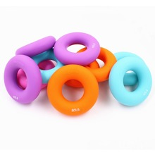 Silica gel Portable hand Grip Gripping ring Carpal expander 20-100 LB 8 cm diameter