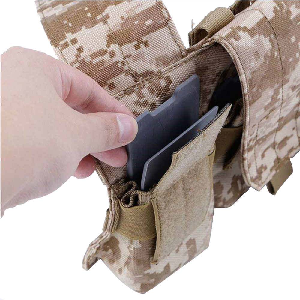 Tactifans Hunting Tactical Nylon Magazine MAG Pouch Accessories Insert M4 5.56 AK 7.62 Military Army Equipment Gear New Arrival