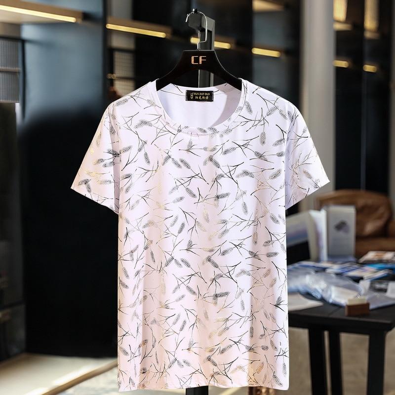10xl 9xl 8xl Plus Größe Sommer Herren T Shirts Kurzarm Mode Lose Marke Mann Kurzarm T Shirts Männlichen Tops Tees Camisas Durch Wissenschaftlichen Prozess
