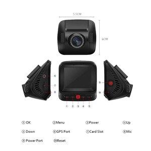 "Image 2 - SYS M8 2.0 ""LCD WiFi 지원 자동차 블랙 박스 슈퍼 HD 2K 1296P 1080P 60fps 대시 캠 운전 레코더 OV4689 MOV H.264 차량 DVR G 센서 루프 레코딩"