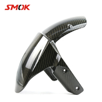 SMOK Motorcycle Carbon Fiber Front Fender Splash Mud Dust Guard Mudguard Tire Cover For Kawasaki Z800 Z1000 2014 2015 2016 2017