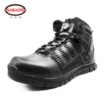 2018 new design Outdoor Breathable Lightweight Mountain Climbing safety shoes tactical boots hiking shoes