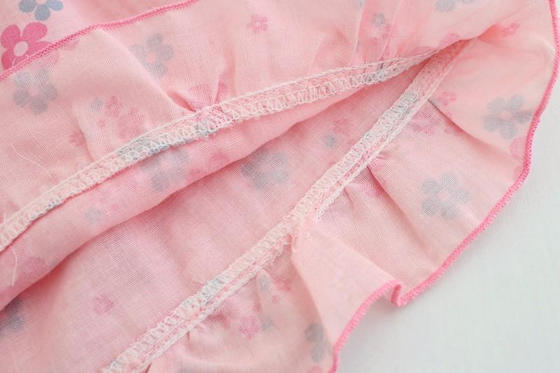 super cute floral cotton gauze shorts