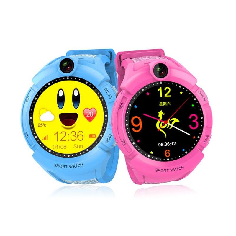 Offre spéciale Q610 Q90 GPS téléphone montre enfant coffre-fort écran tactile montre intelligente SOS appel localisation localisateur traqueur pour enfant Anti perdu - 4