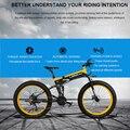 26 pouces neige vélo électrique 48 v li-ion batterie électrique VTT cadre de pliage 4.0 gros pneus pas 80 km max-vitesse 25-30 km/h