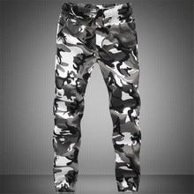Новинка, Мужские штаны для бега,, повседневные камуфляжные штаны, мужские, качественные, хлопок, эластичные, удобные брюки для мужчин, плюс размер, M-3XL