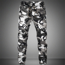 2019 New Joggers Men Hot Sale Casual Camouflage Pants Men Qu
