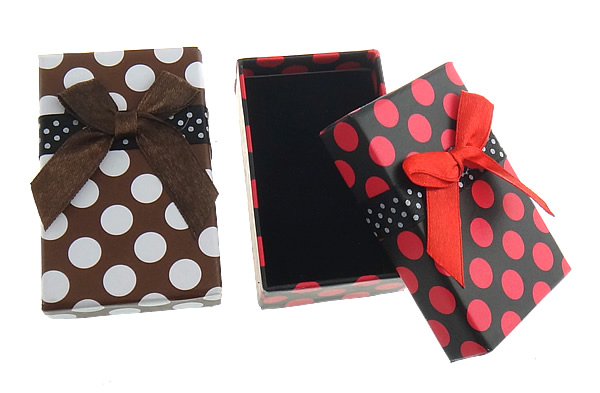 72PCs/Lot Necklace Gift Boxes Cardboard Jewelry Set Box, Rectangle, mixed colors, 50x79x26mm, caja de regalo Sold By Bag