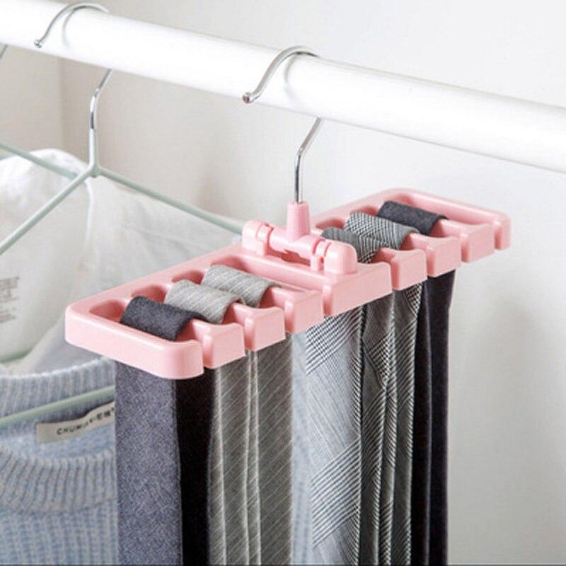 new Rack Tie Belt Organizer Space Saver Rotating Scarf Ties Hanger Holder Hook Closet Organization Tank Tops Bra Belts Bag