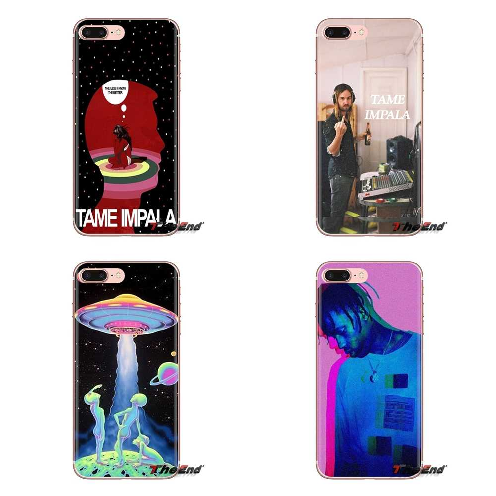 Silicone Phone Housing Arch Enemy Travis Scott Tame Impala For iPod Touch Apple iPhone 4 4S 5 5S SE 5C 6 6S 7 8 X XR XS Plus MAX