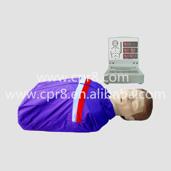 BIX/CPR230 Half-Body Electronic CPR Training Manikin, Electronic Adult Half Body CPR Manikin Model WBW396 bix 100a half body electronic cpr training manikin electronic adult half body cpr manikin model wbw324